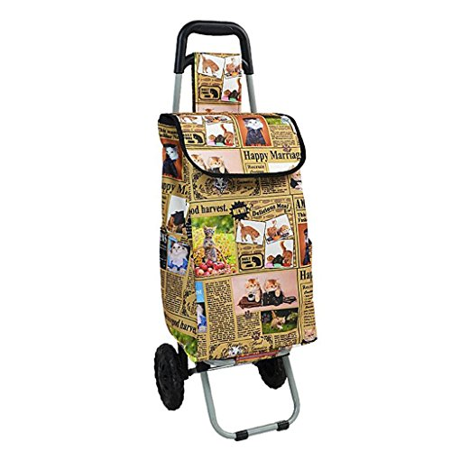 Portable shopping cart trolley stair climbing cart collapsible luggage trailer - folding trolley (Color : C) - - Amazon.com