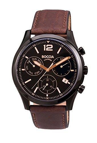 3757-02 Mens Boccia Titanium Chronograph Watch
