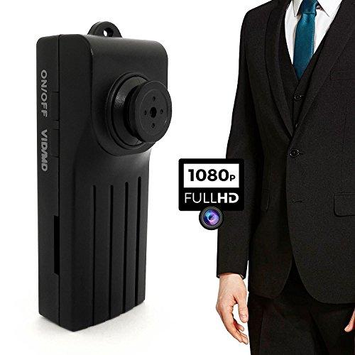 aikes botón HD 1080P cámara espía videocámara de vídeo mini oculta DVR Night versión 30fps Motion Detector Pinhole
