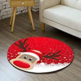 gel kitchen mats target Linker Wish Padded Kitchen Mat 3D Floral Printed Round Floor Mat Circular Carpets Living Room Non-slip Sofa Tea Table Mats Carpet Computer Chair Mat Padb1
