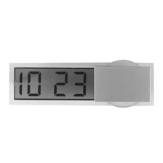 Reloj del coche, reloj digital del coche con termómetro Reloj del tablero del vehículo mini (Car LCD clock): Amazon.es: Coche y moto