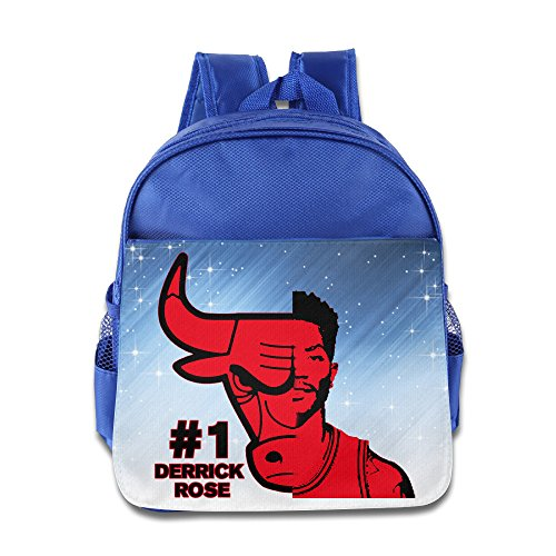 Price comparison product image Custom Chicago Sport Superstar 1 Cool Teenager School Bagpack For 1-6 Years Old RoyalBlue