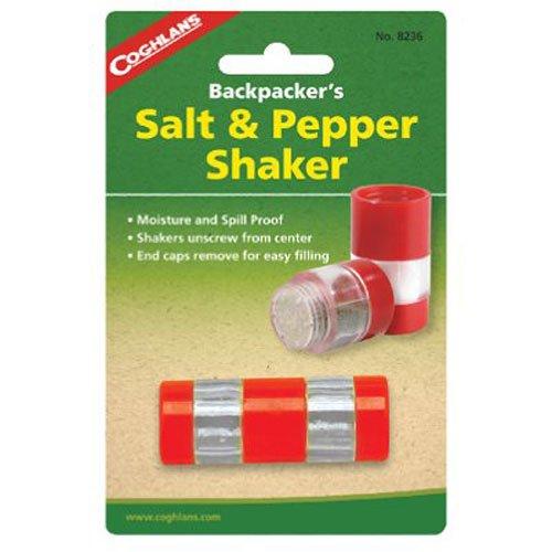 Coghlan's 8236 Backpacker's Salt & Pepper Shaker