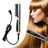 Best Hot Combs - HeCloud UL Certified Safety Ceramic Hair Straightener Brush Review