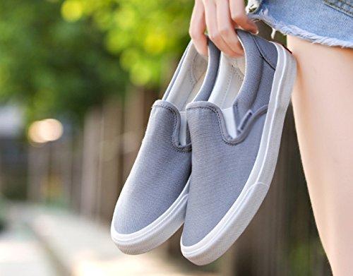 legate scarpe scarpe da estive di con Le a scarpe pigri XFF pedali casual non scarpe scarpe tela traspiranti Grigio piatte uomo uomo scarpe da sono qF5YqnxwPA