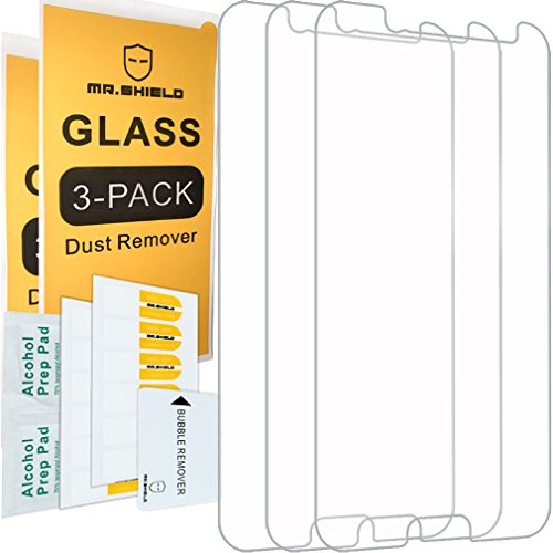[3-Pack]-Mr.Shield for HTC Bolt [Tempered Glass] Screen Protector ()