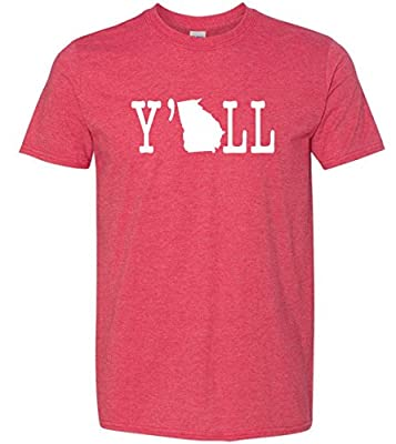 Y'all Southern State Funny Super Soft T-Shirt