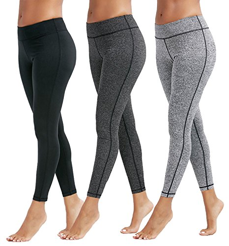 workout Products : Mespirit Women's Workout High Waisted Leggings
