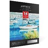 "ARTEZA 9X12"" Watercolor Pad, 14 Sheets"