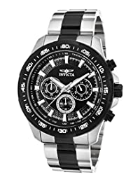 Invicta Men's 'Speedway' Quartz Stainless Steel Casual Watch, Two Tone (Model: 22784)