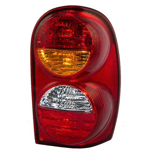 Tail Lamp with Connector Plate Replacement for Jeep SUV 55155828AH (Jeep Liberty Tail Light Assembly)