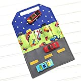Car wallet, car carrier, travel wallet, kids wallet, Airplane toy, birthday gift