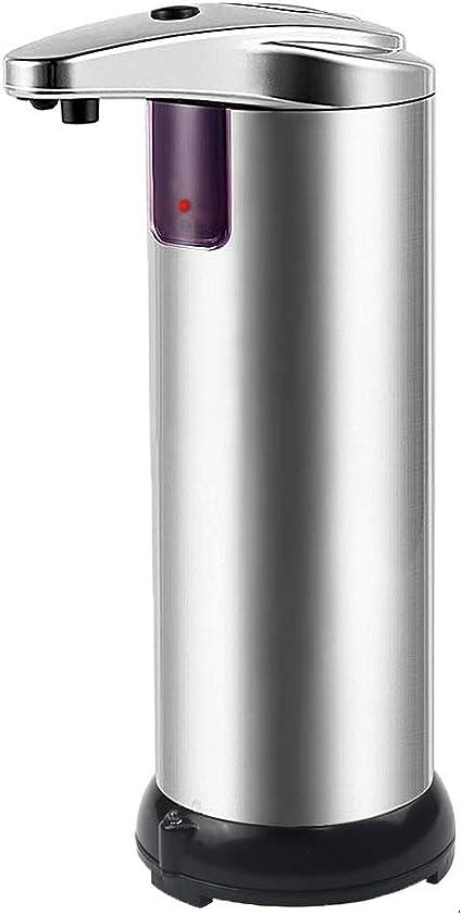 Grande 450 ml SOLEDI Dispensador de Jab/ón Autom/ático sin Contacto con Sensor Infrarrojo para Ba/ño y Cocina