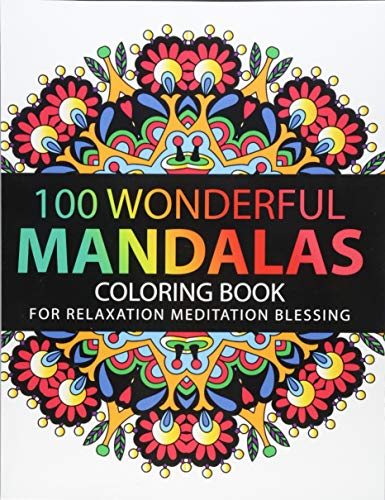 Pdf Crafts Mandala Coloring Book: 100 plus Flower and Snowflake Mandala Designs and Stress Relieving Patterns for Adult Relaxation, Meditation, and Happiness (Mandala Coloring Book for adults)