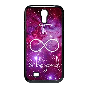 luckhappy store Custom to infinity and beyond black plastic Case for SamSung Galaxy S4 I9500 cover