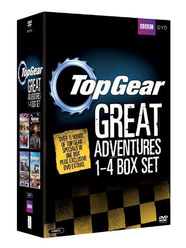 Top Gear - The Great Adventures: 1-4 Box Set (8 Discs) [Region 2 – Non USA Format] [UK Import]