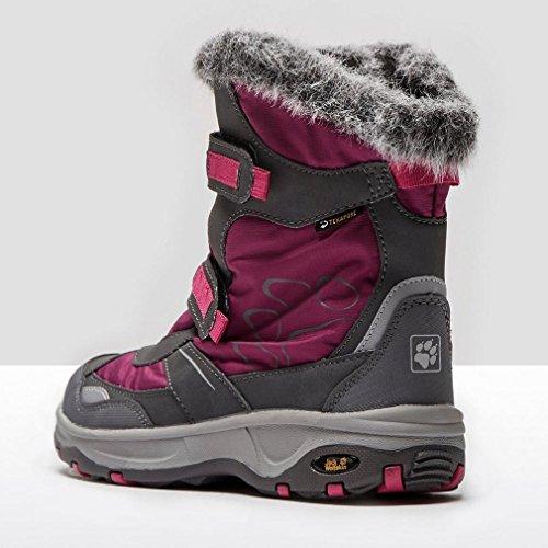 Jack Wolfskin GIRLS SNOW FLAKE TEXAPORE Winterstiefel Kinder mallow purple