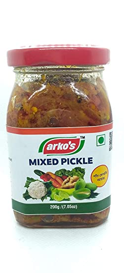 ARKOS Homemade Mixed Pickle , 200gm