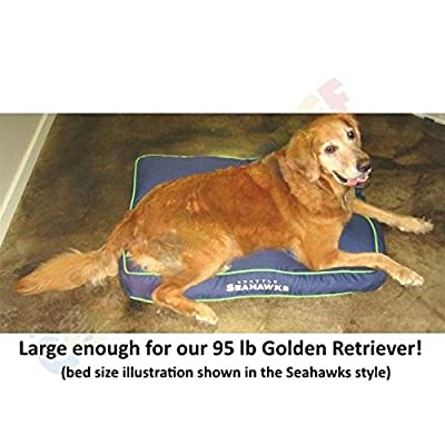 Dallas Cowboys Pet Rectangle Bed from Pets First