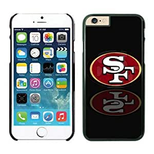 NFL iPhone 6 4.7 Inches Case San Francisco 49ers Black iPhone 6 Cell Phone Case HGEROVFD3843