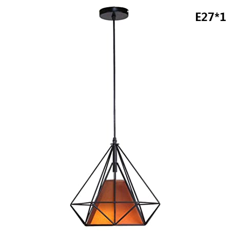 Retro Lámpara de Techo LED E27 Lámpara Colgante de Luz de Techo ...