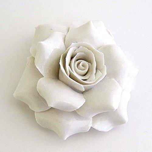 Capodimonte Porcelain Flower Rose