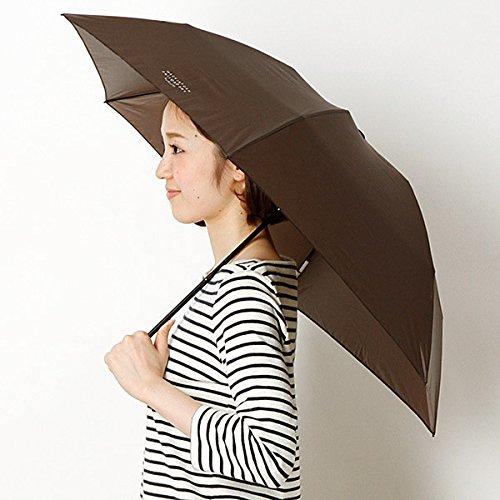 マッキントッシュ フィロソフィー(MACKINTOSH PHILOSOPHY) 【軽量約84g!】【14色展開】ユニセックス折りたたみ傘(バーブレラ Barbrella(R)) B01HK98W9O 50CM|ダークブラウン ダークブラウン 50CM