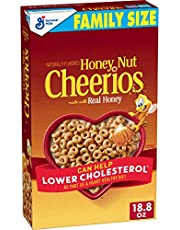 Honey Nut Cheerios, Breakfast Cereal with Oats