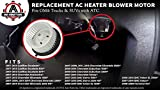 AC Heater Blower Motor - Fits Chevy