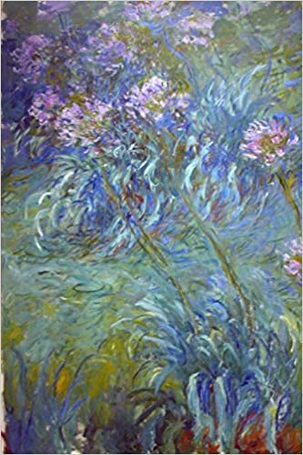 Claude Monet's 'Agapanthus' Art of Life Journal (Lined)
