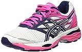 Asics Gel-cumulus 18, Women's Running Shoes, Off White (White/indigo Blue/hot Pink), 5.5 UK (39 EU)