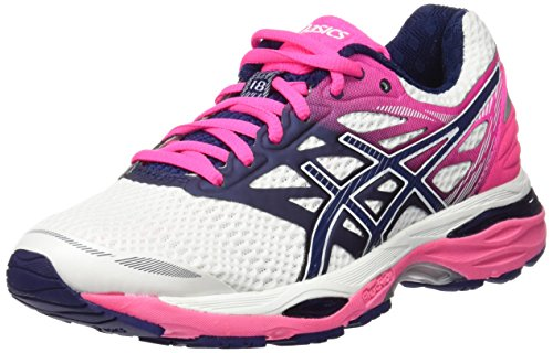 Running Hot 18 Blue Donna Multicolore White Asics Indigo Pink Gel Cumulus Scarpe xwvFFITqf