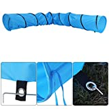 Cat Tunnel, Portable Folding Waterproof Pet Dog Rabbit Kittens Puppies Playing Tube Training Exercise Fun Tunnel Toy with Carry Bag-Diameter 16/23inch- Length 13FT/18FT (Diameter-16inch, Length 13FT)