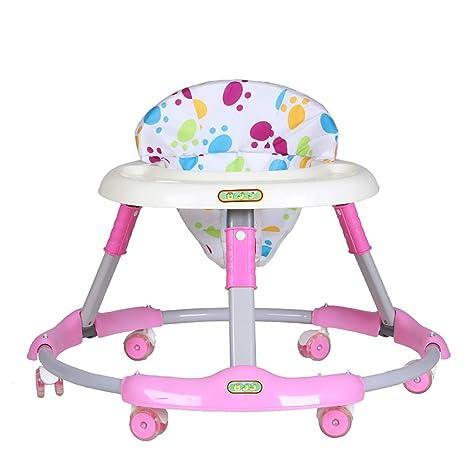 GUO@ Andador antivuelco para bebés 6-7-18 meses Caminador ...