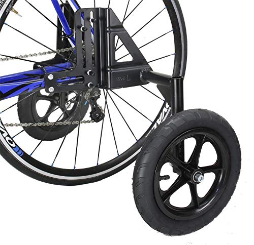 - CyclingDeal Adjustable Adult Bicycle Bike Training Wheels Fits 20