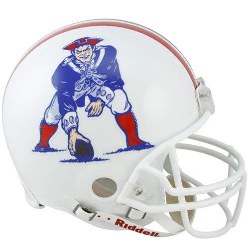 New England Patriots 82-89 Riddell VSR4 Authentic Full Size Football Helmet by Riddell