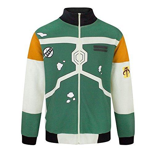 Jacket Fett Star Costume Wars Bomber Men's Boba YfEOf
