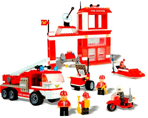 Fire Station Constuction Set