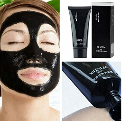 Massage Table Gold Package (2pcs XIUZILM Blackhead Mask Mud Nose Face Clean Pore Peel Off Remover Deep Cleaner by)