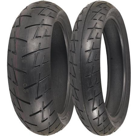 Shinko 009 Raven Radial Front Motorcycle Tire 120/70-17 XF87-4041 by Shinko