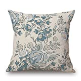 Bestseason Plant Pillow Covers 20 X 20 Inches / 50 By 50 Cm For Sofa,husband,kitchen,kids Boys,relatives,divan With 2 Sides