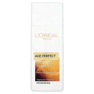 L'Oréal Paris Age Perfect Lissage Lait Démaquillant (200ml) - Paquet de 6