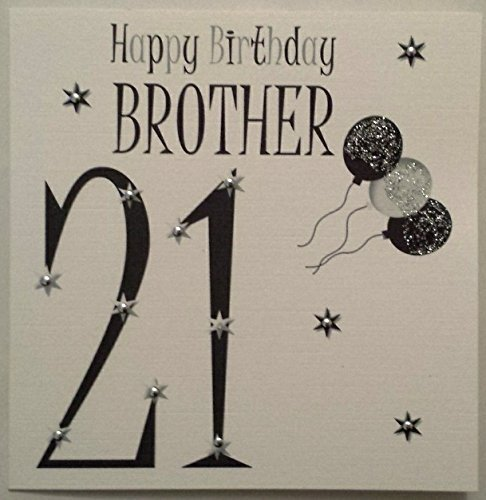 Special Brother 21st Birthday Birthday Card Amazon Office