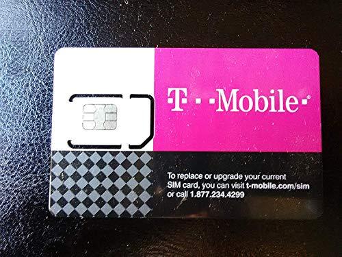 T-MOBILE TRIPLE CUT SIM CARD • STANDARD / MICRO / NANO GSM 4G LTE -UNACTIVATED!- (H2o Wireless Nano Sim Card 4g Lte)