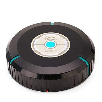 Prenine La barredora para Pisos al vacío, fregadora, Limpieza automática Delgada, remueve el Polvo del Robot Limpiador para Pisos: Amazon.es: Hogar