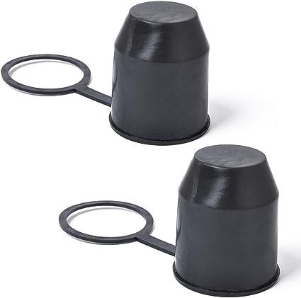 Schutzkappe Anhängerkupplung schwarz Kunststoff Abdeckkappe Abdeckung Neu