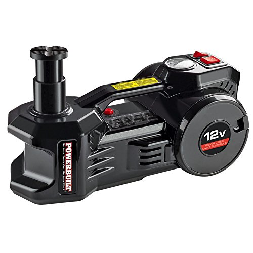 Powerbuilt 620484 12V Electric Jack and Tire inflator by Powerbuilt