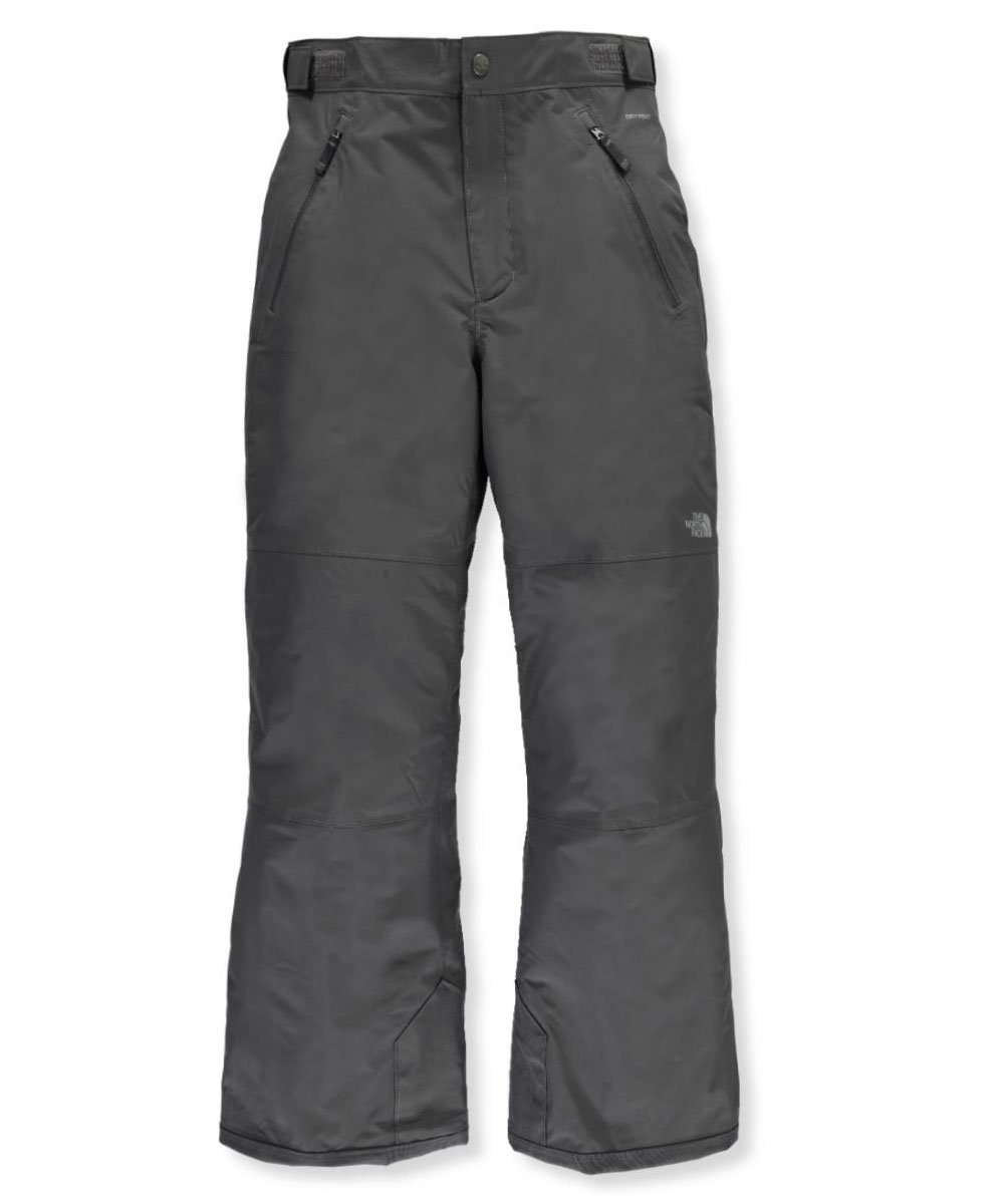 The North Face Big Boys' Freedom Pants (Sizes 7 - 20) - graphite grey, s/7-8