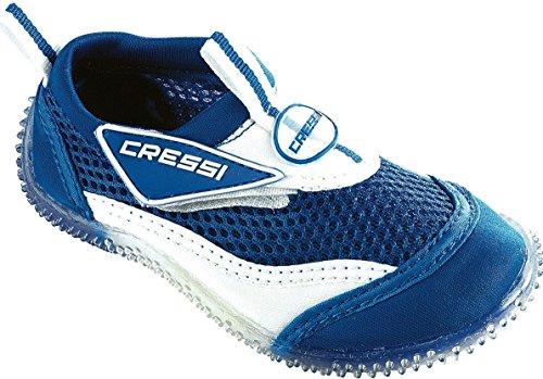 Bleu Cressi de Blue et piscine Chaussures Enfant plage Blanc Coral EOqwrOx0p