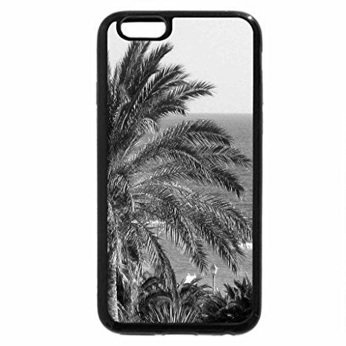 iPhone 6S Plus Case, iPhone 6 Plus Case (Black & White) - Atlantic ocean